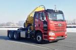 一汽解放 J6P 460马力 6X4 随车吊(CA4250P66K24L1T1E6Z)图片