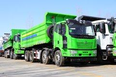 一汽解放 J6L重卡 320马力 8X4 5.8米自卸车(CA3310P62K1LT4E5)