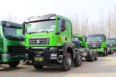 中国重汽 汕德卡SITRAK G7W重卡 400马力 8X4 6.8米自卸车(ZZ3316N356ME1)