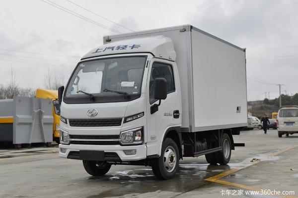 跃进 福运S80 112马力 4X2 3.55米冷藏车