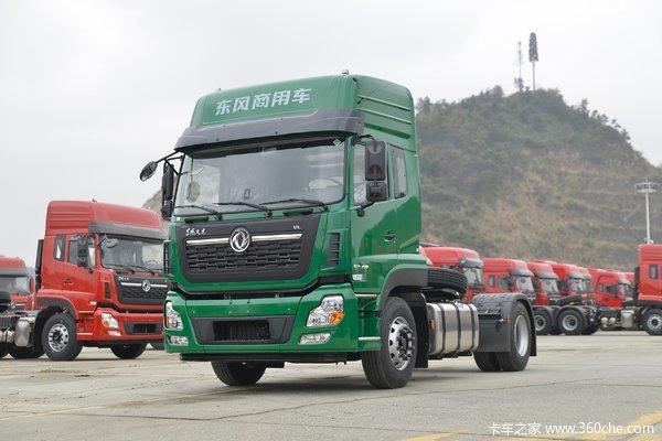 东风商用车 天龙VL重卡 400马力 4X2牵引车(国六)(14挡)