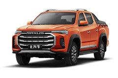 上汽大通 T90 2021款 精英版 2.0T柴油 163马力 6挡自动 四驱高底盘 标箱双排皮卡