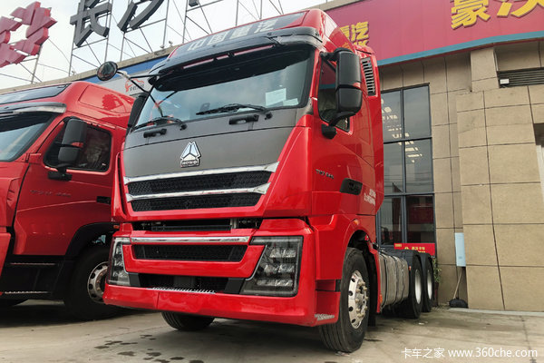 中国重汽 HOWO TH7重卡 540马力 6X4牵引车(16挡)
