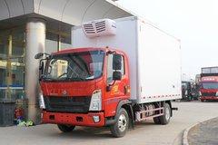 中国重汽HOWO 统帅 130马力 4X2 4.1米冷藏车(国六)(ZZ5047XLCH3315F145)