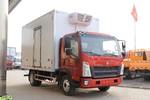 中国重汽HOWO 统帅 150马力 4X2 4.1米冷藏车(国六)(ZZ5047XLCG3215F144)图片