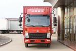 中国重汽HOWO 悍将 150马力 4.15米单排厢式轻卡(ZZ1047F3114F145)图片