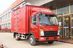 中国重汽HOWO 悍将 130马力 4.15米单排厢式轻卡(窄体)(ZZ5047XXYF3314F145) 卡车图片