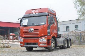 一汽解放 新J6P重卡 质惠版2.0⁺ 460马力 6X4 AMT自动挡牵引车