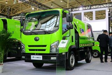 郑州宇通 W4轻卡 4.5T 4X2 纯电动厢式垃圾车(YTZ5040ZXLD0BEV)