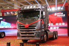 中国重汽 HOWO TH7重卡 犇赢版 480马力 6X4 AMT自动挡牵引车(ZZ4257V324HE1B) 卡车图片