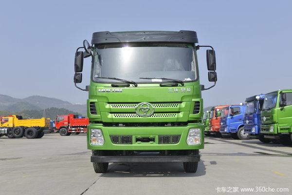 三环十通 昊龙T280重卡 270马力 8X2 7.6米自卸车