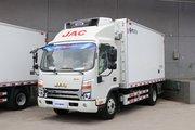 江淮 帅铃Q6  冰博士 160马力 4X2 4.015米冷藏车(国六)(宏昌天马牌)(开利牌冷机)