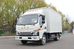 江淮 帅铃E中体 130马力 4.15米单排厢式轻卡(国六)(HFC5045XXYP32K2C7S) 卡车图片