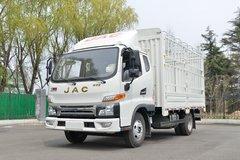 江淮 帅铃E中体 152马力 3.905米排半仓栅式轻卡(HFC5045CCYP92K3C2V) 卡车图片