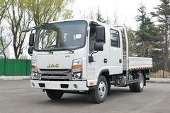 江淮 帅铃Q3 130马力 3.145米双排栏板轻卡(国六)(HFC1041R73K1C7S) 卡车图片