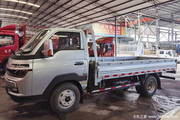中国重汽HOWO 智相 130马力 4X2 3.6米单排栏板小卡