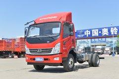 现代商用车 泓图500 170马力 4.165米单排仓栅轻卡(CHM5041CCYQDA33V) 卡车图片