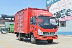 现代商用车 泓图300 143马力 4.165米单排厢式轻卡(CHM5044XXYQDA33V) 卡车图片