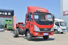 现代商用车 泓图300 143马力 4.18米单排厢式轻卡(CHM5041XXYZDB33V) 卡车图片
