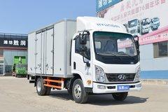 现代商用车 泓图200 116马力 4.095米单排厢式轻卡(CHM5041XXYEDF33V) 卡车图片