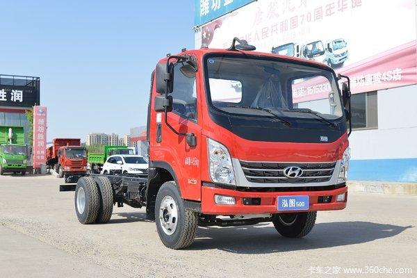 优惠0.7万赤峰市泓图500载货车促销中