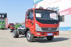 现代商用车 泓图500 156马力 4.165米单排厢式轻卡(CHM5041XXYQDA33V) 卡车图片