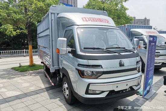 中国重汽HOWO 智相 130马力 4X2 3.95米单排厢式小卡(ZZ5047XXYF3112F142)