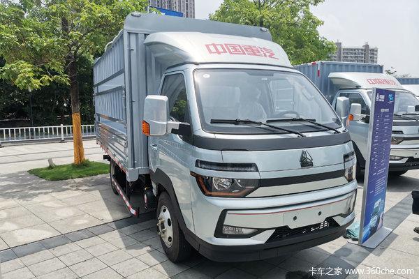 中国重汽HOWO 智相 130马力 4X2 3.6米单排仓栅式小卡