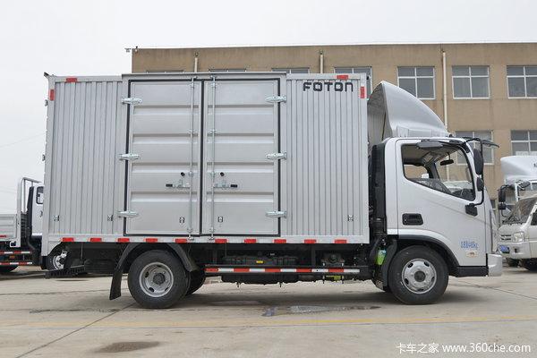 福田 奥铃新捷运 115马力 4.14米单排厢式轻卡(BJ5045XXY-FA)