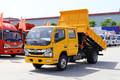 东风 凯普特K6 115马力 4X2 3.37米双排自卸车(EQ3041D3BDFAC)图片