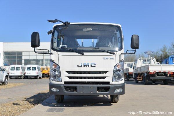 江铃凯运升级版载货车温州市火热促销中 让利高达0.4万