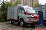 中国重汽HOWO 智相 130马力 4X2 3.95米单排厢式小卡(速比4.875)(ZZ5047XXYF3112F145)图片