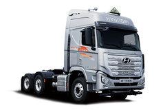 现代商用车 新一代创虎重卡 460马力 6X4 危险品牵引车(国六)(CHM4250KPQ46WXPT) 卡车图片