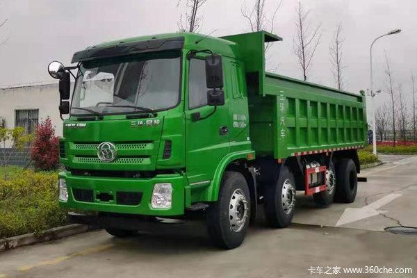 三环十通 昊龙重卡 豪华版 270马力 8X2 6米自卸车