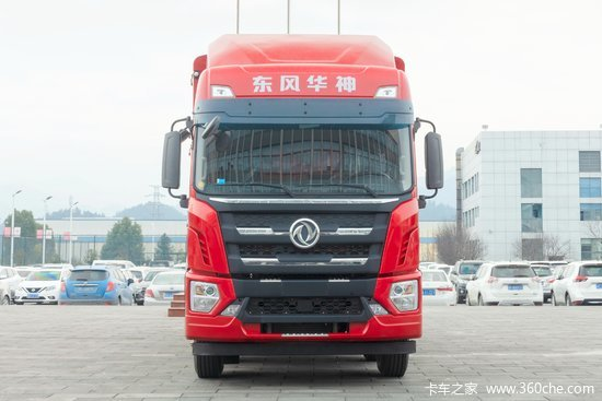 东风华神 T5 240马力 4X2 6.75米排半栏板载货车(速比3.91)(EQ1186GL6D21)