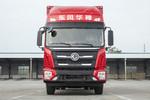 东风华神 T5 240马力 4X2 9.8米排半翼开启厢式载货车(EQ5186XYKL6D11)图片