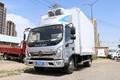 福田 奥铃CTS 190马力 4X2 5.05米冷藏车(BJ5188XLCKPFG-AD1)图片