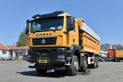 中国重汽 汕德卡SITRAK G7W重卡 400马力 8X4 6.8米自卸车(ZZ3316N326HE1)