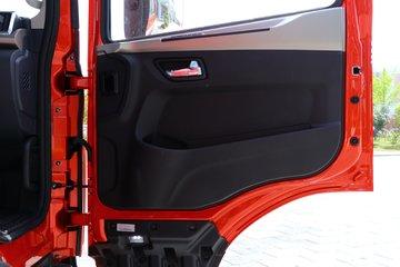 东风华神 T5 270马力 4X2 9.8米排半翼开启厢式载货车(EQ5186XYKL6D11)图片