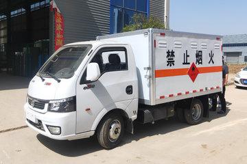 东风途逸 T5 113马力 4X2 3.1米易燃气体厢式运输车(EQ5035XRQ16QCACWXP)图片