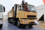華菱重卡 31T 8X4 換電版 5.6米純電動自卸281.92kWh