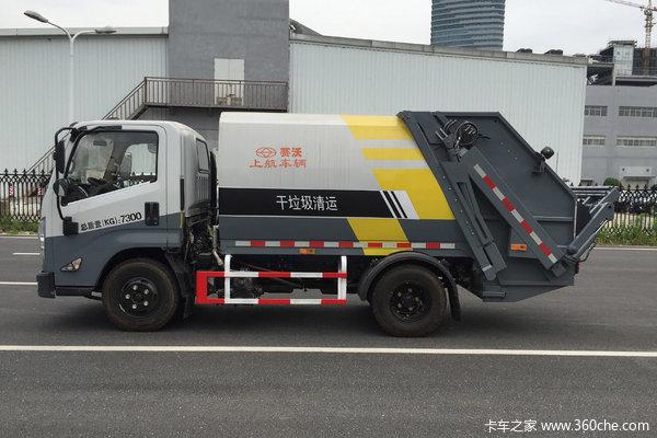 优惠2万上海塞沃牌江铃垃圾运输车促销