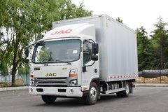 江淮 帅铃Q6 160马力 4X2 4.12米单排厢式轻卡(国六)(全铝货厢)(HFC5043XXYP71K3C7S) 卡车图片