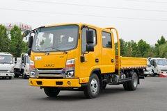 江淮 帅铃Q3 130马力 3.145米双排栏板轻卡(国六)(工程黄)(HFC1041R73K1C7S) 卡车图片