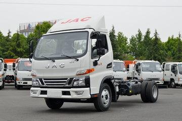江淮 骏铃V5 130马力 4.22米单排仓栅式轻卡(国六)(HFC5043CCYB32K1C7S)