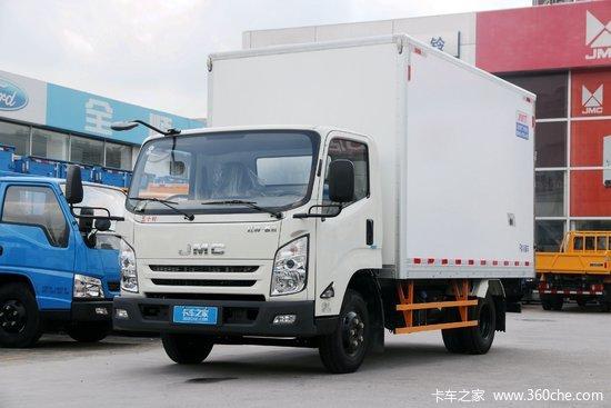 江铃 凯运强劲版 116马力 3.97米单排冷藏车(JMT5045XLCXG2)