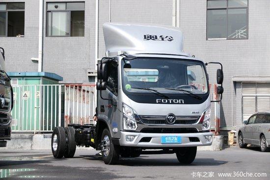 福田 奥铃新捷运 小钢炮 170马力 4.14米单排厢式轻卡(国六)(BJ5048XXY8JDA-AB4)