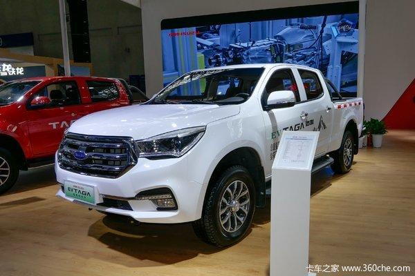 庆铃达咖TAGA EV 2021款 两驱 大双排纯电动皮卡