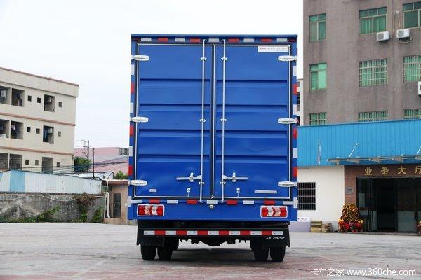 江淮 帅铃Q6 160马力 4.12米单排厢式轻卡(宽体)(国六)(HFC5048XXYP71K3C7S)