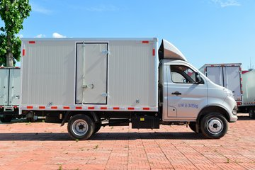 长安跨越王X3 舒适版 1.6L 汽油 122马力 3.285米单排厢式微卡(国六)(SC5034XXYNGD6B1)图片